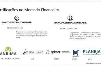 As certificações do Mercado Financeiro